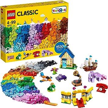 LEGO Classic - Caja Extra Grande de Ladrillos con 1500 Piezas para Jugar y Construir Creativas y Divertidas Creaciones para Niños y Niñas a Partir de 4 Años (10717): LEGO: Amazon.es: Juguetes y juegos