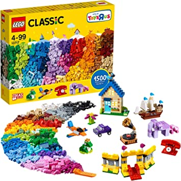 Lego Classic Extra Large Stone Box 10717 Classic Building Toy For Children Lego Amazon Co Uk Toys Games