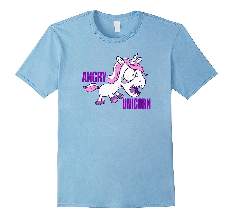 Angry Unicorn Shirt - Cute Funny Unicorns T-Shirt-Art