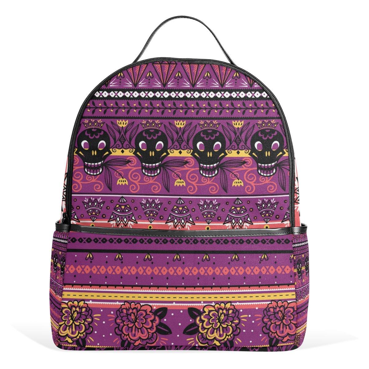 Amazon.com   Cooper girl Vintage Rose Skull Travel Backpack Camping Backpack  for Boys and Girls   Kids  Backpacks 260c891adc
