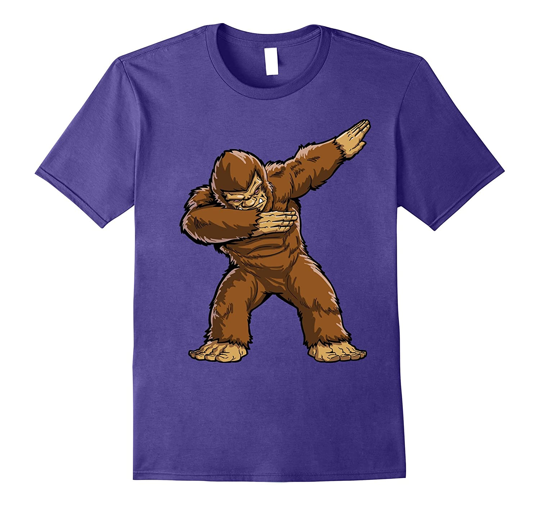 f77d0bdf6 Bigfoot Sasquatch Dabbing T Shirt Funny Dab Monster Gifts-RT – Rateeshirt