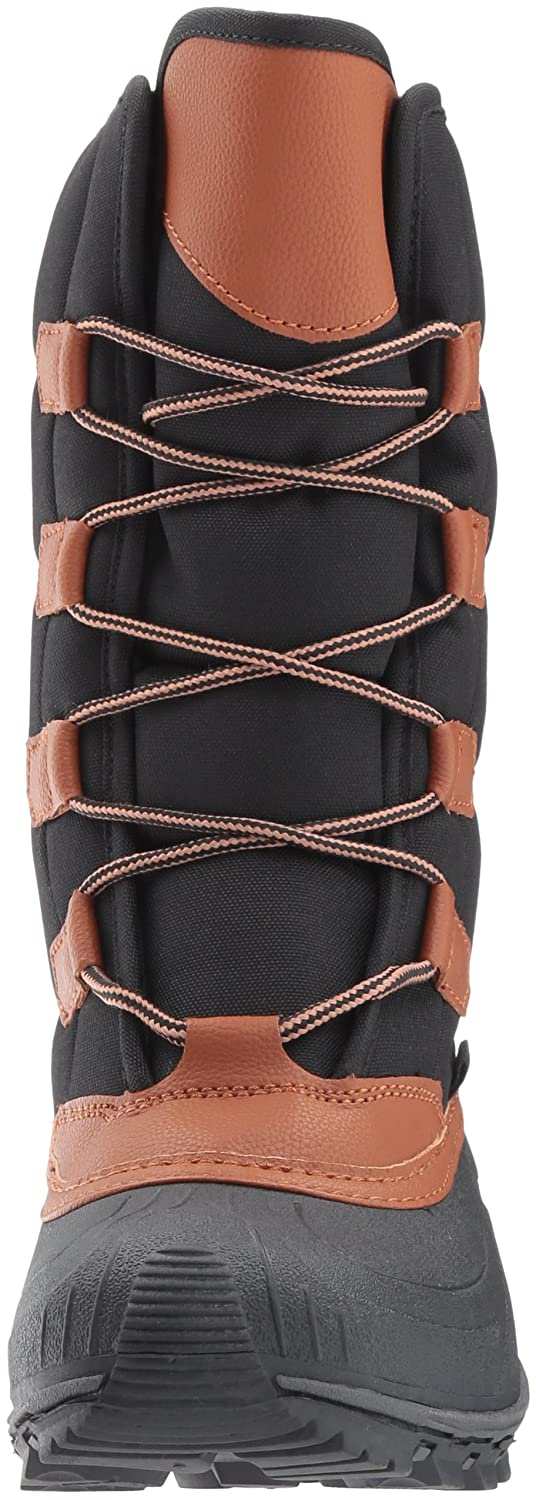 Kamik Women's Mcgrath Snow Boot B01N6LY8W3 7 D US|Black/Tan