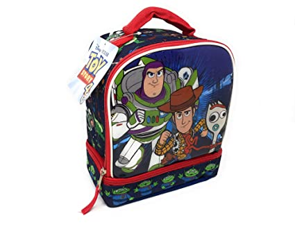 317c505df7a9 Amazon.com: Disney-Pixar Toy Story 4 Insulated Lunchbox Featuring ...