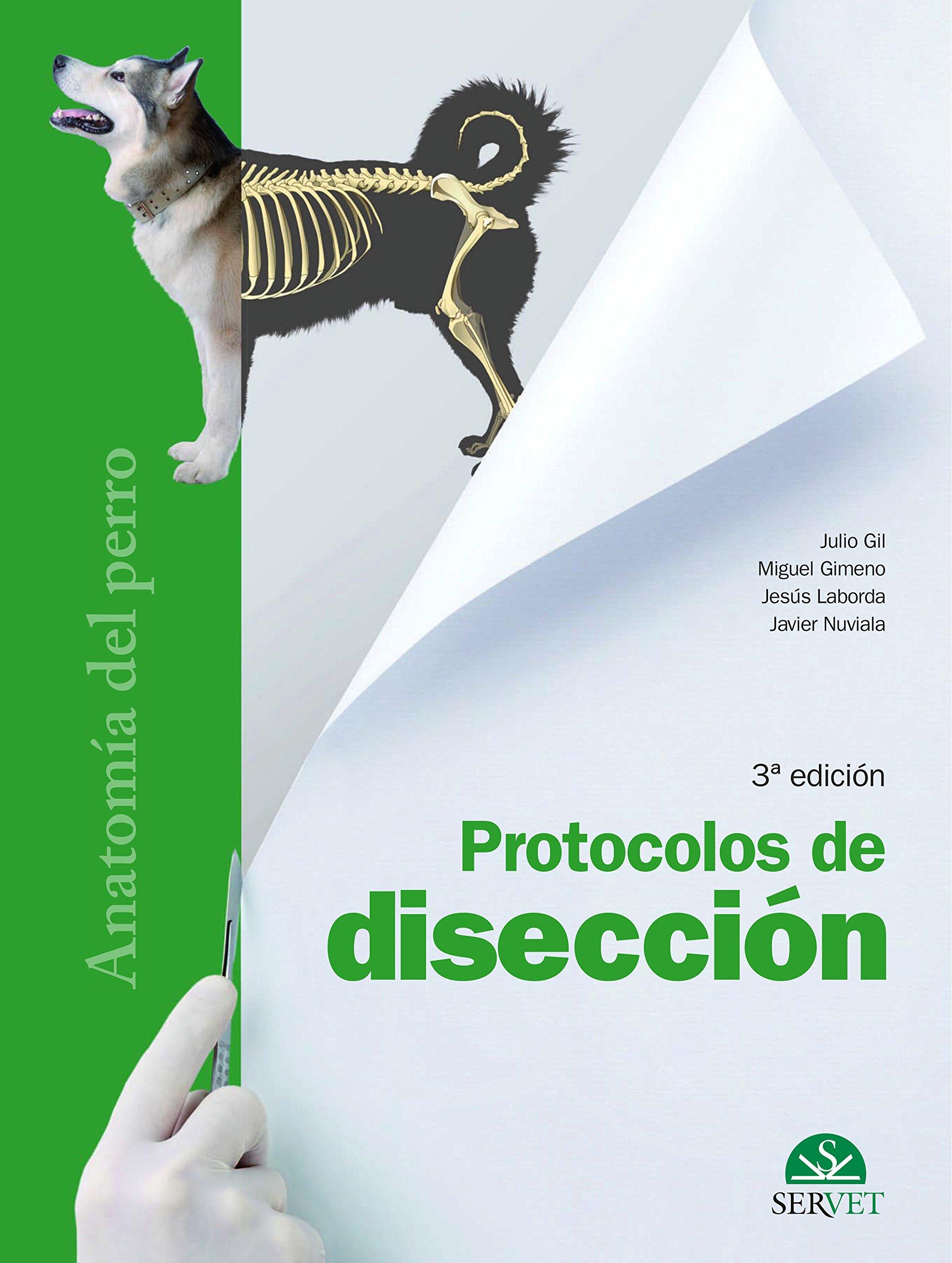 Protocolos de disección. Anatomía del perro - Libros de veterinaria ...