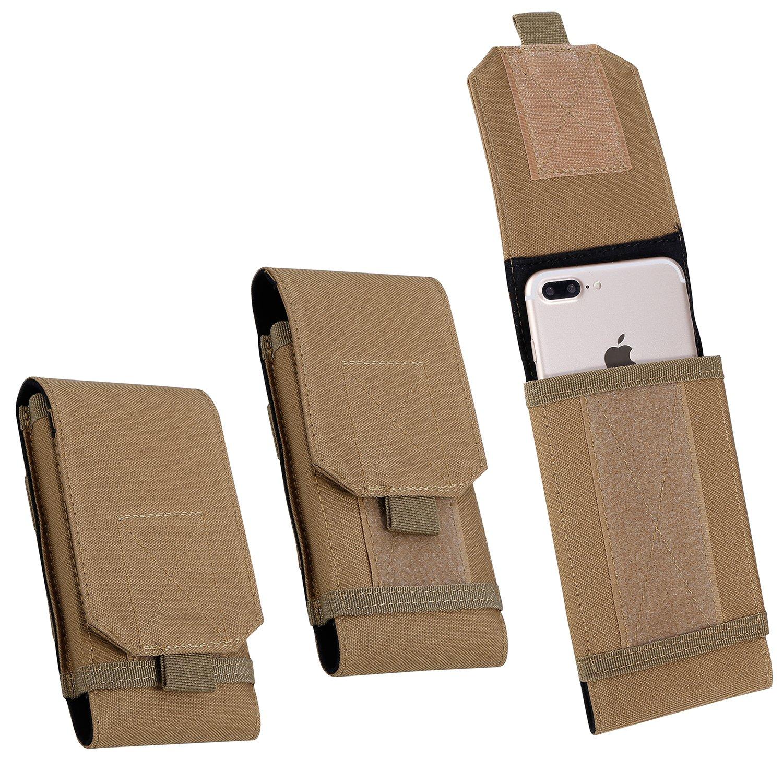 Sacoche de Ceinture Etanche Sac Tactique Militaire Molle Banane  Portefeuille Pochette de Course pour Téléphone Portable ... 70976ce9117b
