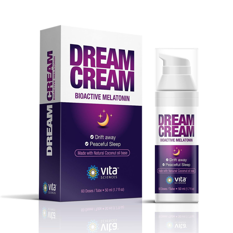 Melatonin Cream for Your Dream Sleep - Super Convenient Way to Use Each  Pump is 3mg of Melatonin