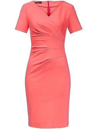 Damen - Jersey-Kleid mit 1 2-Arm von Fadenmeister Berlin, rot, Damen ... b846b5f671