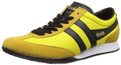 Gola Wasp, Sneakers Basses Homme - Jaune - Jaune/Noir, 25