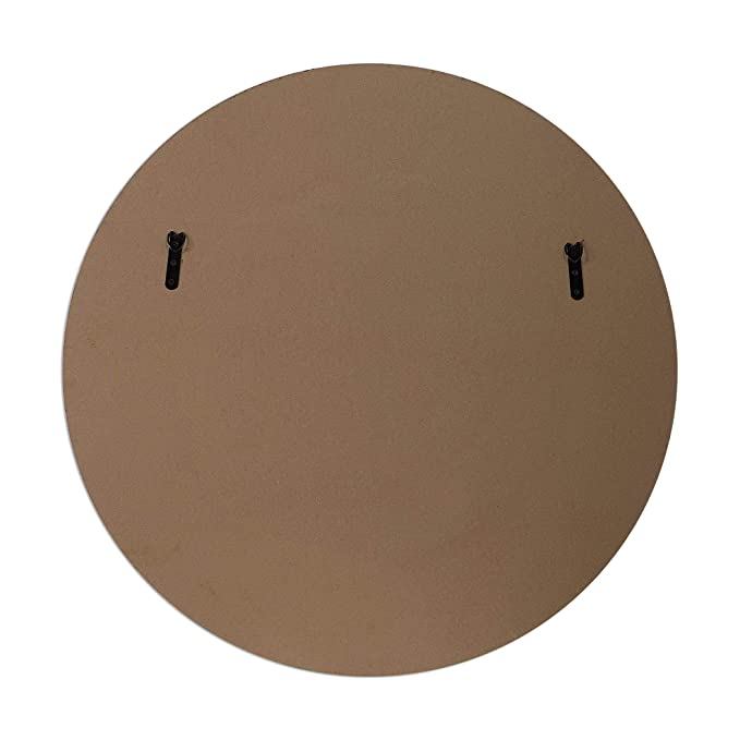 Amazon.com: Zinc Decor Espejo de pared redondo grande de ...
