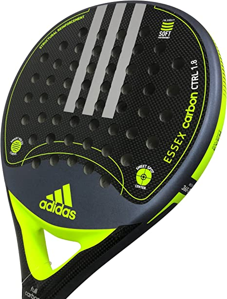 Pala de pádel Adidas Essex Carbon Control 1.8: Amazon.es: Deportes ...