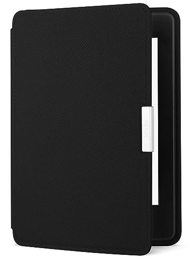 Amazon Kindle Paperwhite Lederhülle, Onyx-Schwarz - geeignet für ...