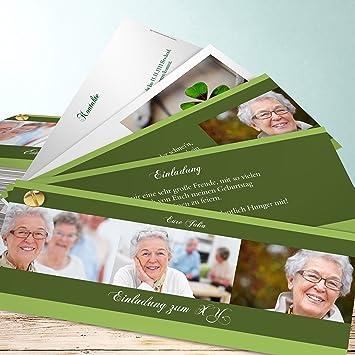 Einladungskarten 60 Geburtstag Selber Machen Dreiklang 60 110