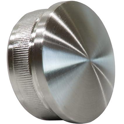 Tapa para tubería Encorvada 42,4/2 mm de acero inoxidable V2 ...