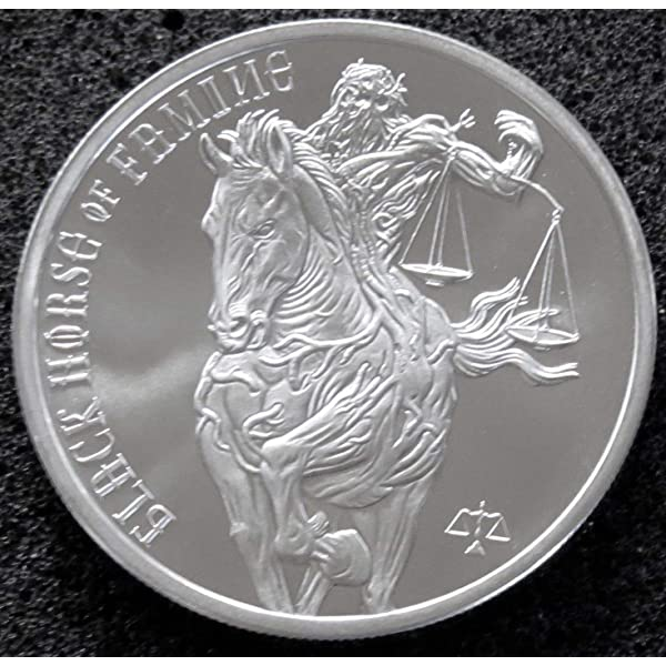NGC PF70 Proof Pale Horse of Death Silver Round Great Collection Coin!