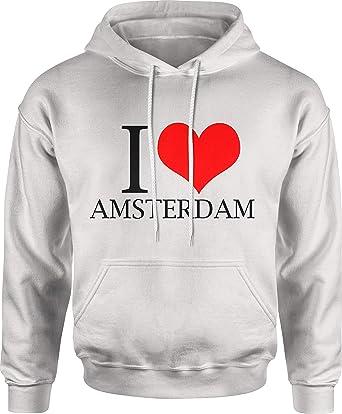 brand new 5f059 2bf94 OP shirts I Love Amsterdam   Kapuzenpullover Herren ...