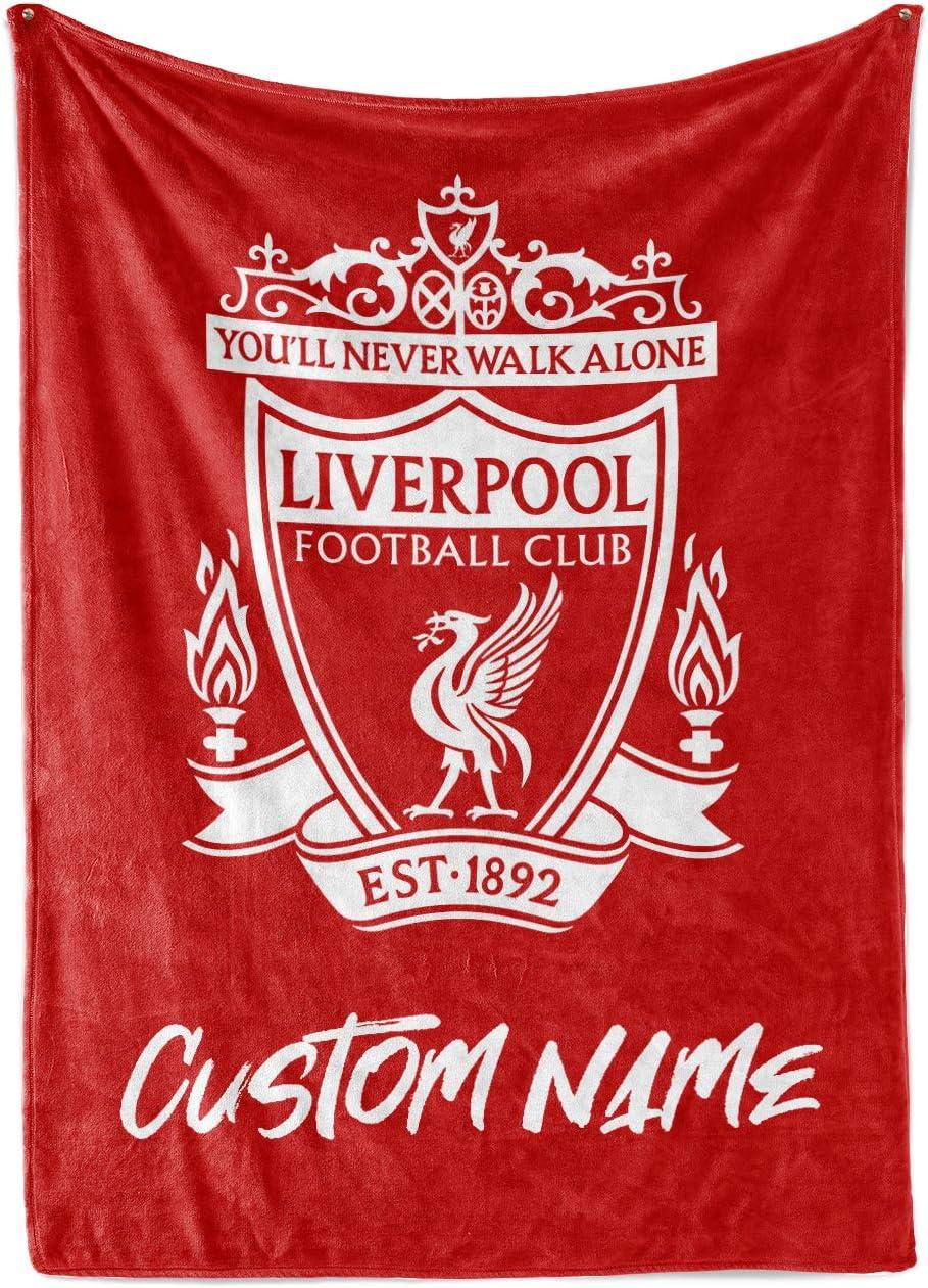 Liverpool F.c Fleece Blanket Pl