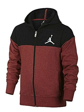 air jordan quilted full zip hoodie