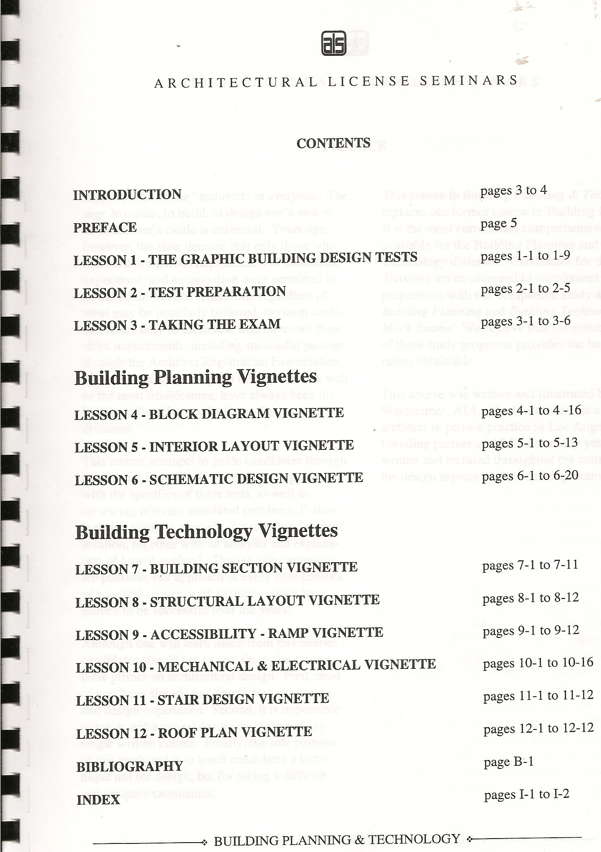 Building Planning Technology Lester Wertheimer Books Mechanical Electrical Plan Vignette