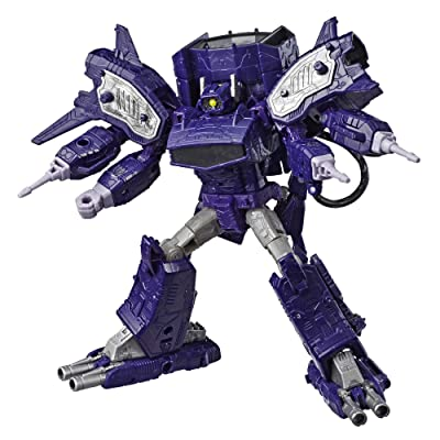 Transformers Generations War for Cybertron: Siege Leader Class WFC-S14 Shockwave Action Figure: Toys & Games [5Bkhe2002588]