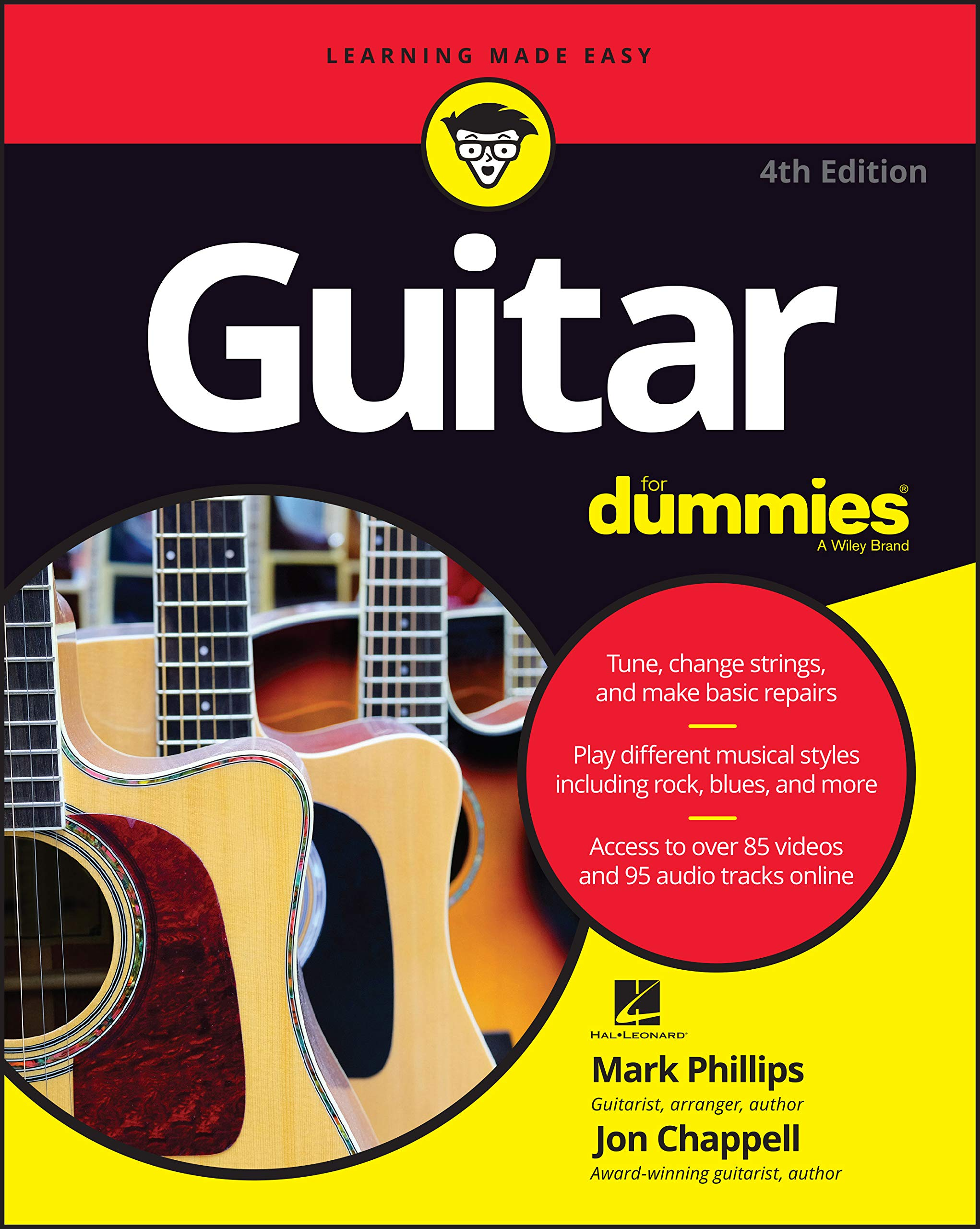 Guitar For Dummies, 4th Edition: Amazon.es: Phillips, Mark: Libros ...