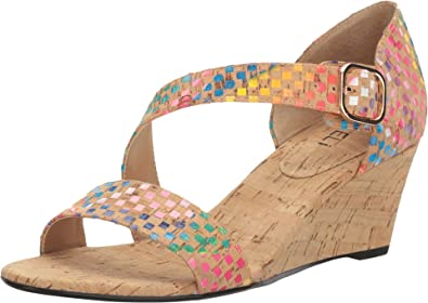 Vaneli Women's Marilyn Natural Multi Spiral Cork Sandal