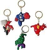 Avengers Keychains 4 Pcs Set #3