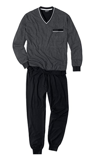 Götzburg - Pijama - para hombre negro XXX-Large
