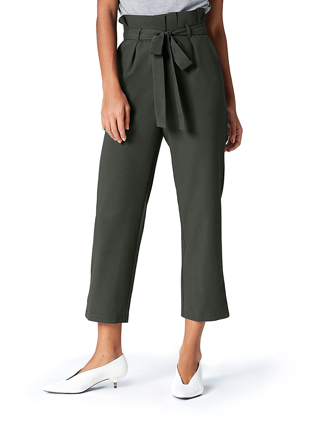 find. Paperbag Waist_AN5488 - Pantalones Mujer