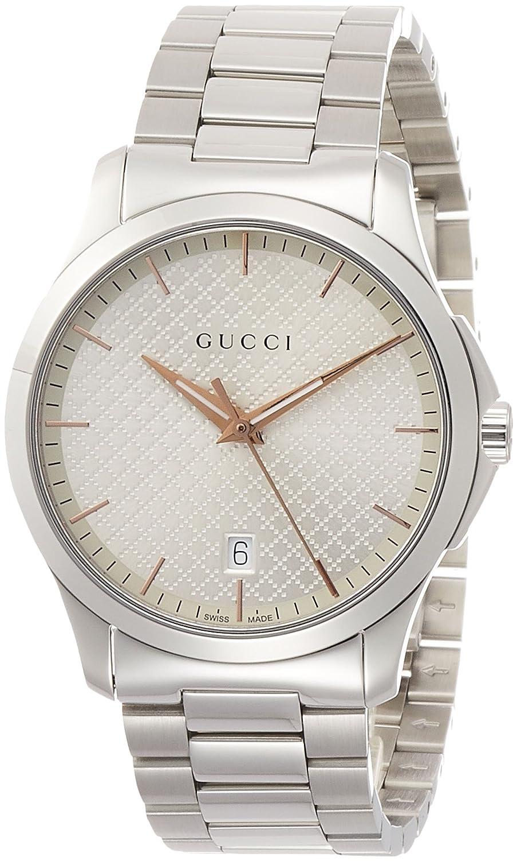 [グッチ]GUCCI 腕時計 G-Timeless シルバー文字盤 YA1264052 メンズ 【並行輸入品】 B078HFPLC8