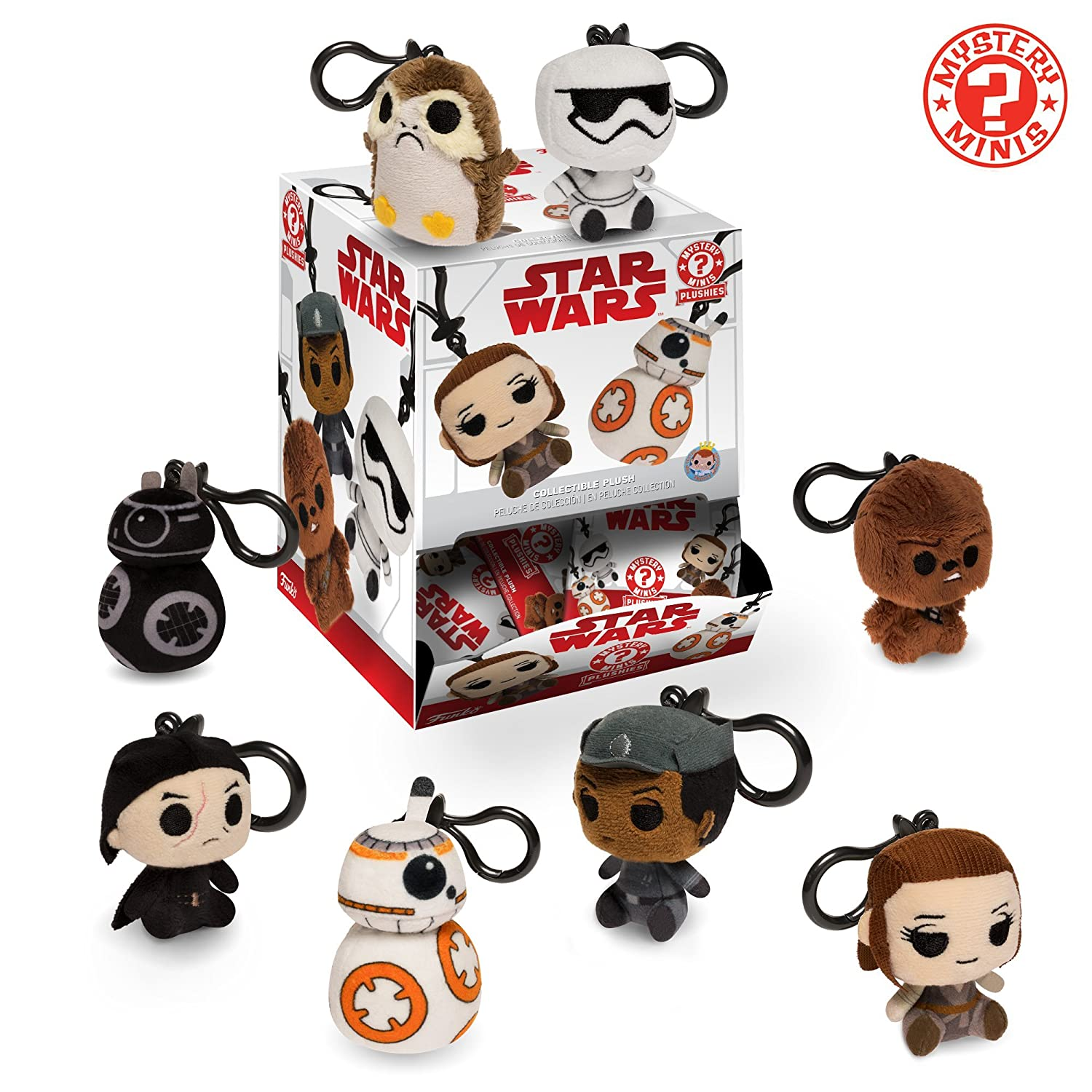 Amazon.com: Funko Blind Bag Keychain Plush: Star Wars the Last Jedi Collectible Figure, Multicolor: Funko Plush Keychains:: Toys & Games