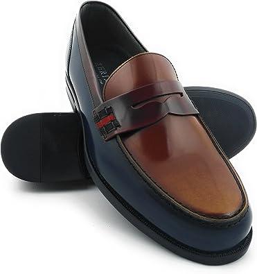 Zerimar Zapatos Castellanos Hombre | Mocasin Antifaz Hombre | Mocasines Hombre | Zapatos Hombre Vestir | Fabricados en España: Amazon.es: Zapatos y complementos