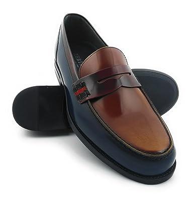 Zerimar Zapatos Castellanos Hombre | Mocasin Antifaz Hombre | Mocasin con Borlas para Hombre | Zapatos