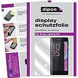 dipos Sony Xperia E5 Schutzfolie (6 Stück) - kristallklare Premium Folie Crystalclear
