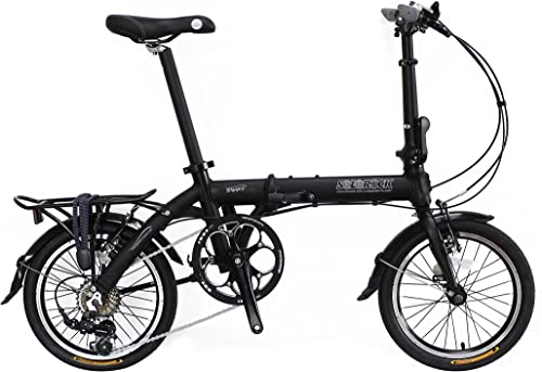 SoloRock 16 7 Speed Aluminum Folding Bike – Swift Model