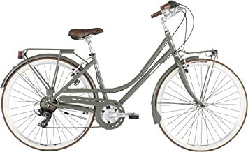 Alpina Bike Freetime - Bicicleta para Mujer, Color Verde Militar ...