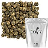 Tealyra - Black Dragon Pearls - Yunnan Special Black Tea - Loose Leaf Tea - Premium Tea - Bold Caffeine - Organically…