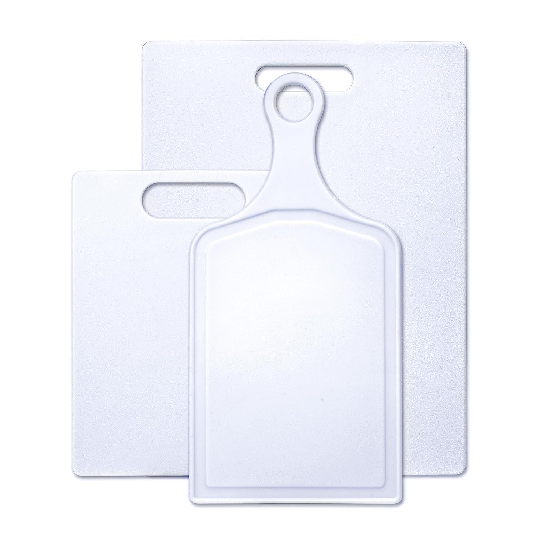 Farberware 3-Piece Plastic Cutting Board Set, Assorted Sizes