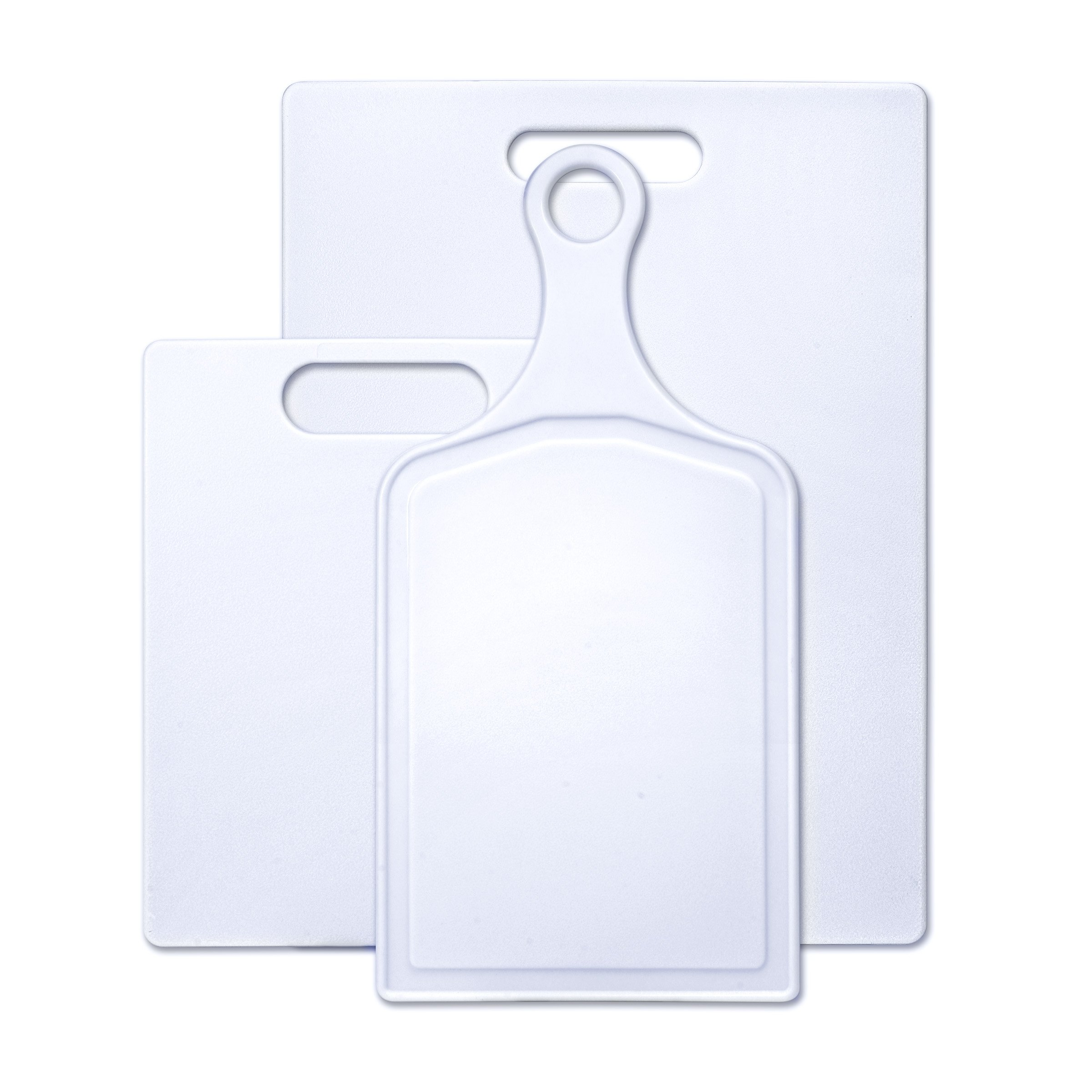 Farberware 3-Piece Plastic Cutting Board Set, Assorted Sizes by Farberware