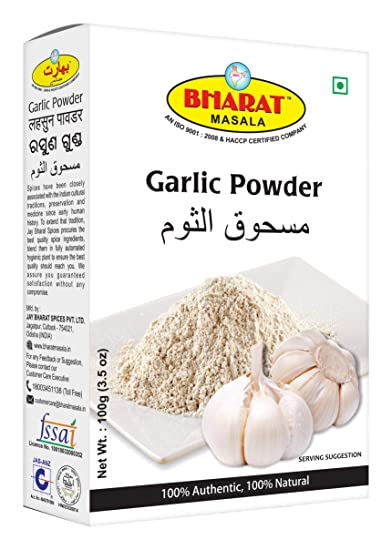 BHARAT MASALA Garlic Powder, 100 Grams