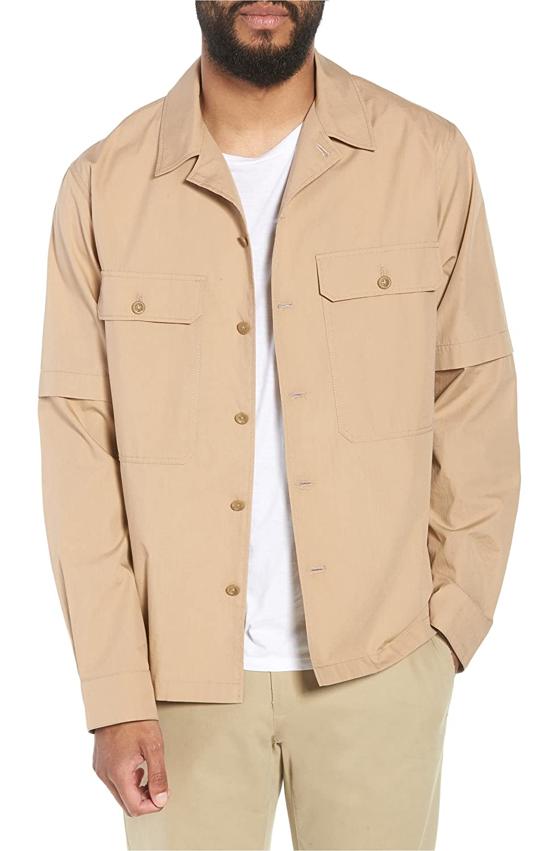 [ヴィンス] メンズ ジャケットブルゾン Vince Regular Fit Shirt Jacket [並行輸入品] B07DVZ2JBM X-Large
