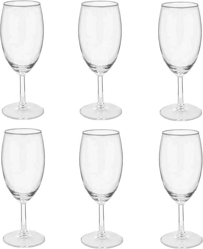 380ml Ritzenhoff /& Breker 4All Biertulpe-Set 6-tlg.,Transparent Glas