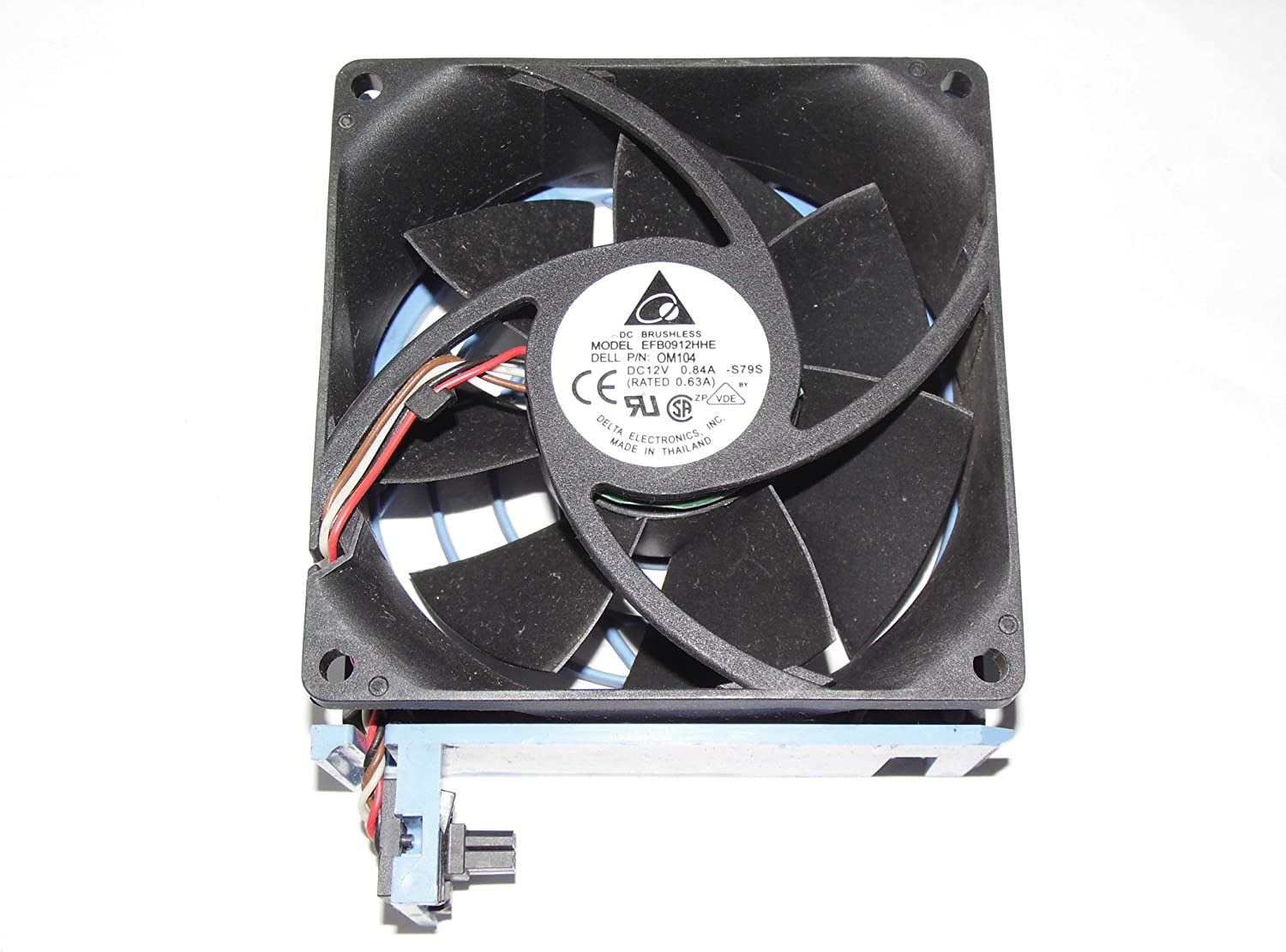 Delta 92mm EFB0912HHE 12V 0.84AWire for DELL PowerEdge 2600 0M104 Case Fan