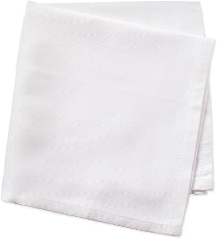 Perfect for Halloween Black Dinner Parties BBQs and Everyday Use Pack of 12 DII Basic Buffet 16x16 Cotton Napkin