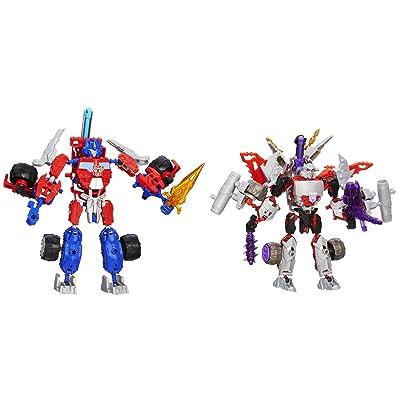 Transformers Construct-Bots Optimus Prime Vs. Megatron Construction Set: Toys & Games
