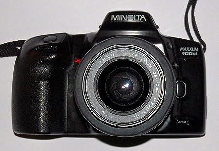 Minolta Maxxum 400si – Incluye LLL Minolta AF Zoom AF - Objetivo ...