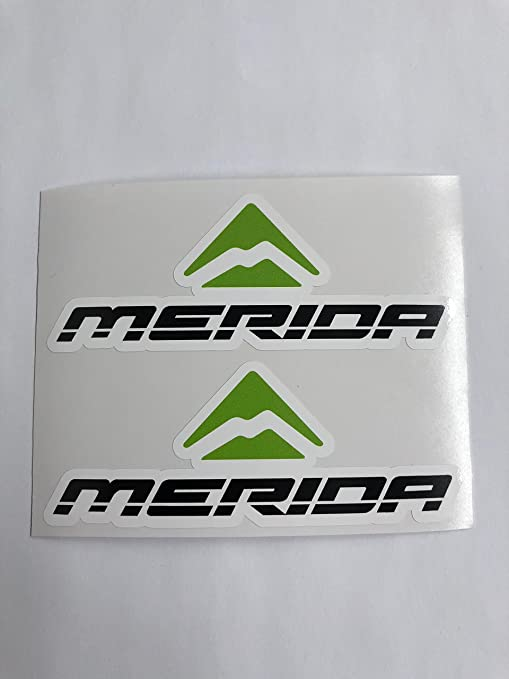 Amazon com: 2 Merida Bikes Decals by SBDdecals com: Automotive