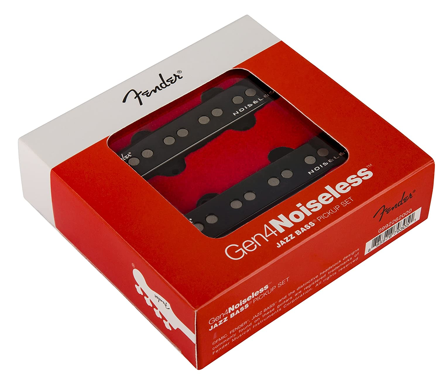 Amazon.com  Fender Generation 4 Noiseless Jazz Bass Single-Coil Pickups -  Set of 2  Musical Instruments 3f5d5b4aa037
