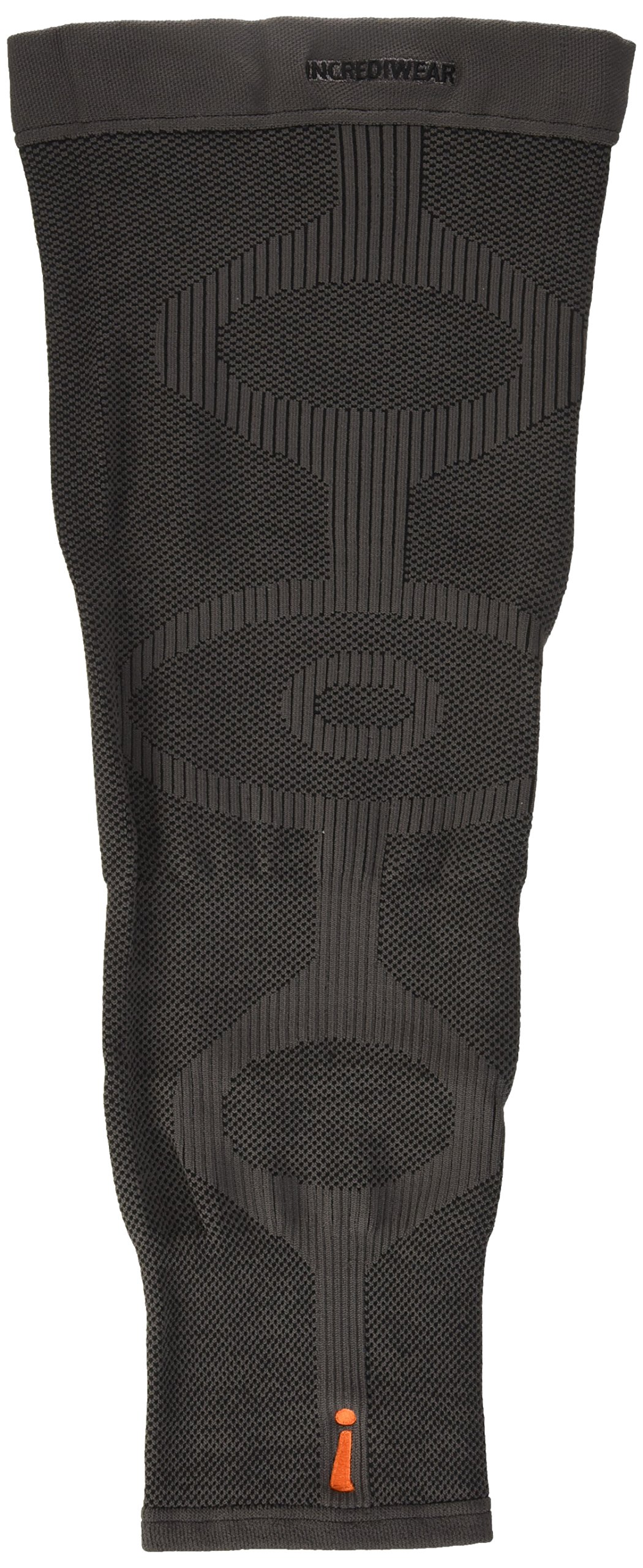 INCREDIWEAR Single Leg Sleeve, Charcoal, X-Large, 0.03 Pound