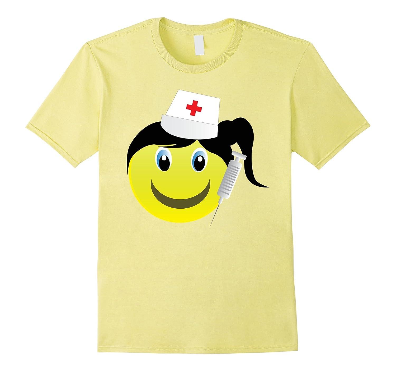 b764588dea3 Smiling Emoji Nurse Costume