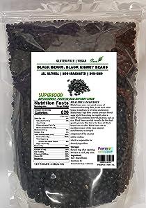 1 LB 100% ALL Natural, Black Turtle Beans ,Black Beans,Black Kidney Beans,US Seller